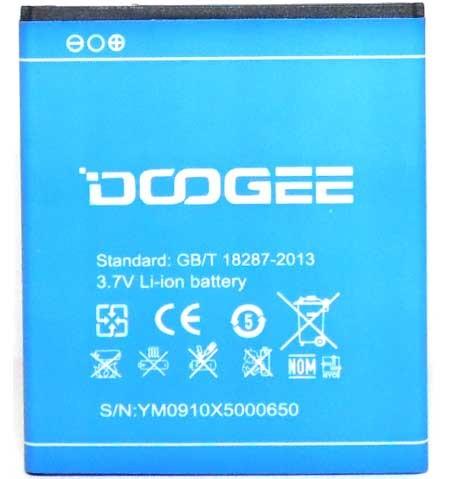 Аккумулятор Doogee X5/Х5 PRO оригинал (2400 mAh)