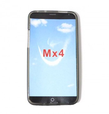 Силиконовый чехол Meizu MX4 черный