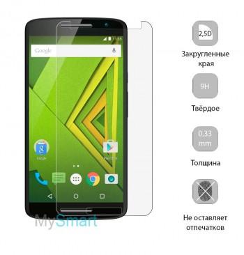 Защитное стекло Motorola X Play