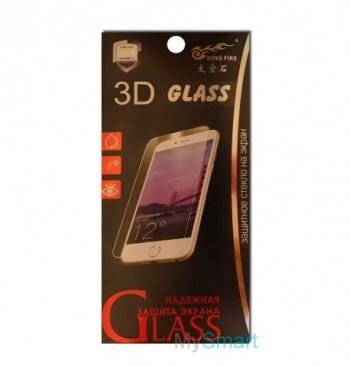 Защитное стекло 3D Xiaomi Redmi 4a белое