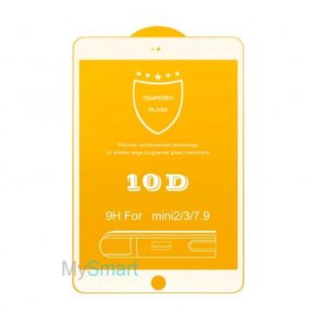 Защитное Стекло iPad mini 1/2/3 [10D] белое