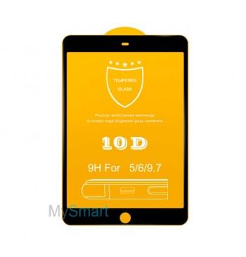 Защитное Стекло iPad Air/Air 2 [10D] черное