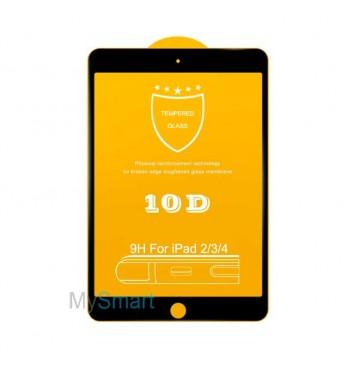 Защитное Стекло iPad 2/3/4 [10D] черное