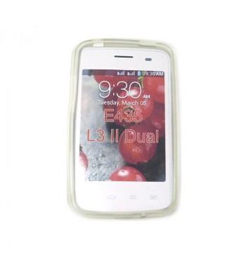 Силиконовый чехол LG E435 L3 II Dual