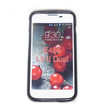 Силиконовый чехол LG E455 L5 II Dual