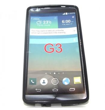 Силиконовый чехол LG G3