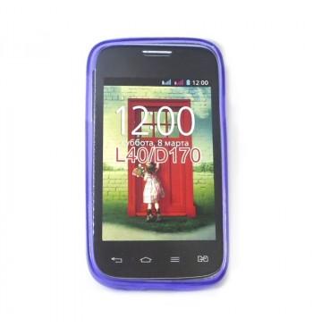 Силиконовый чехол LG L40
