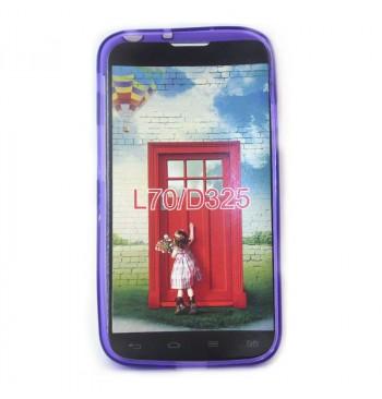 Силиконовый чехол LG L70/D325 фиолетовый