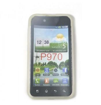Силиконовый чехол LG P970