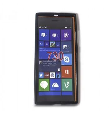 Силиконовый чехол Nokia 730