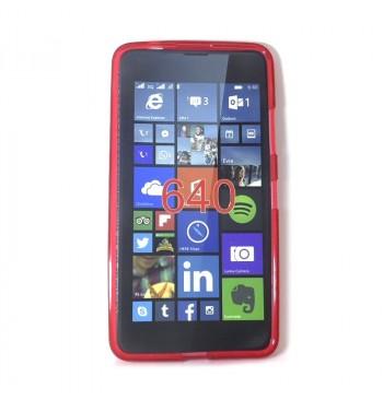 Силиконовый чехол Nokia 640