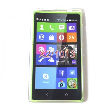 Силиконовый чехол Nokia X2_1013