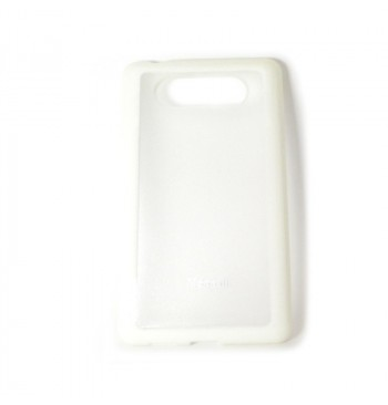 чехол-накладка Nokia N820 белый