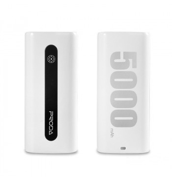 Дополнительная батарея Proda E5 Power Box 5000mAh White