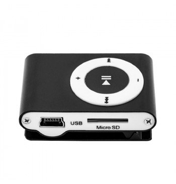 MP3 player SLIM black + HF