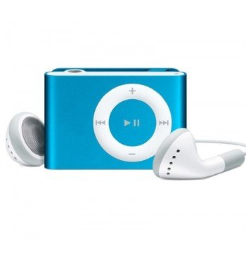 MP3 player SLIM blue + HF