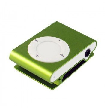 MP3 player SLIM green + HF