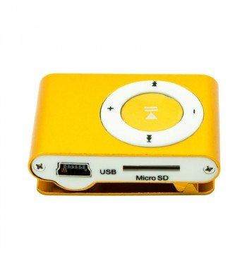 MP3 player SLIM orange + HF