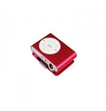 MP3 player SLIM red + HF