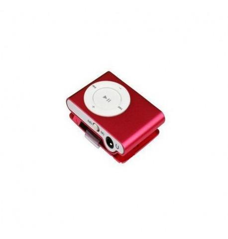 MP3 player SLIM red + HF