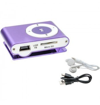 MP3 player SLIM violet + HF