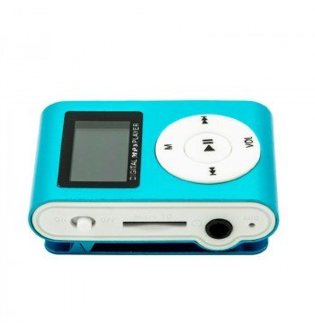 MP3 player SLIM blue + LCD + HF
