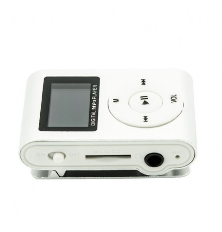 MP3 player SLIM silver + LCD + HF