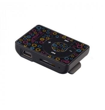 MP3 player SLIM New Black B-класс (без наушников, без USB кабеля)