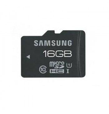 Карта памяти microSDHC 16Gb Samsung (Class 10) + Adapter SD