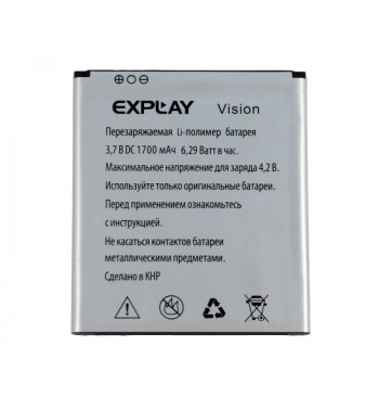 Аккумулятор Explay Vision оригинал