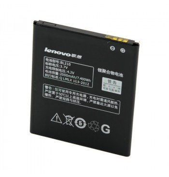 Аккумулятор Lenovo S820/S650A656/A766 (BL210) оригинал