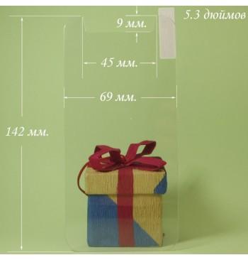 Универсальное защитное стекло 5.3 дюймов Veron (2.5D)