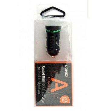 Автомобильное зарядное устройство DL-C12 USB (2,1 A), LDNIO