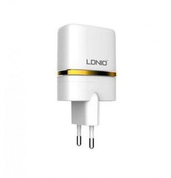 Сетевое зарядное устройство DL-AC52 2 USB Home charger 2.4 A, LDNIO