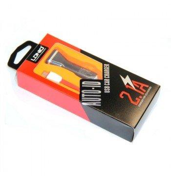 Автомобильное зарядное устройство DL-C219 +cable lightning