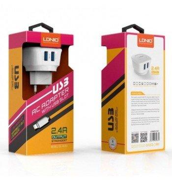 Сетевое зарядное устройство AC-63 +cable micro usb