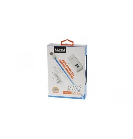 Сетевое зарядное устройство S-100 +cable micro usb