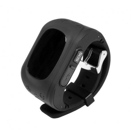 Детские умные часы с GPS трекером GW300 (Q50) Black