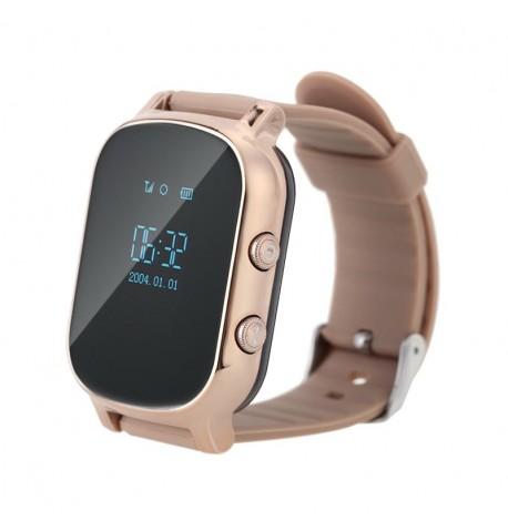 Детские умные часы с GPS трекером GW700 (T58) Gold