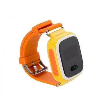 Детские умные часы с GPS трекером GW900 (Q60) Orange
