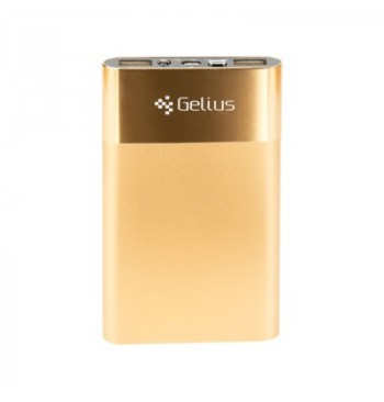 Дополнительная батарея Gelius Ultra Slim 5000mAh 2.1A Gold