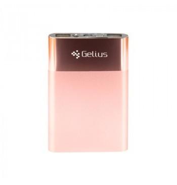 Дополнительная батарея Gelius Ultra Slim 5000mAh 2.1A Rose Gold