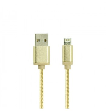 Кабель Gelius Double Side 2in1 iPhone 5/6/MicroUSB Gold