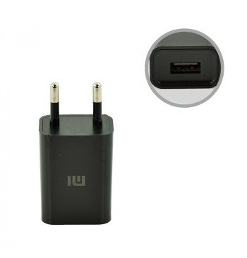 СЗУ USB Original Quality Xiaomi + cable MicroUSB 1A Black (CH-P002)