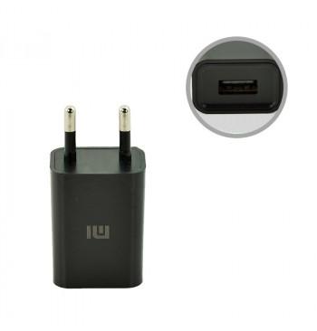 СЗУ USB Original Quality Xiaomi + cable MicroUSB 1A Black (CH-P002)
