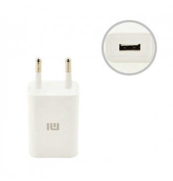 СЗУ USB Original Quality Xiaomi + cable MicroUSB 1A White (CH-P002)